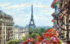 A beautiful view of Eiffel Tower - Digital Painting - Posters
