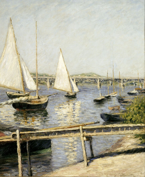Sailing Boats at Argenteuil - Posters