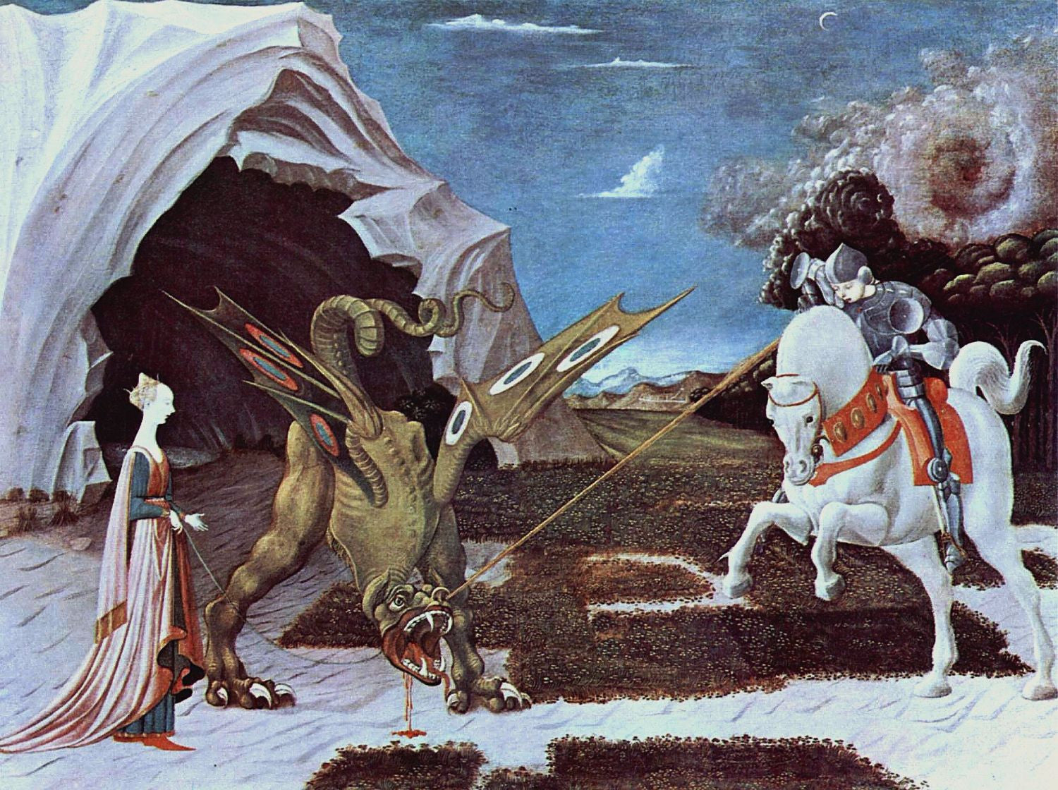 Paolo Uccello | Buy Posters, Frames, Canvas, Digital Art & Large Size Prints Of The Famous Old Master's Artworks