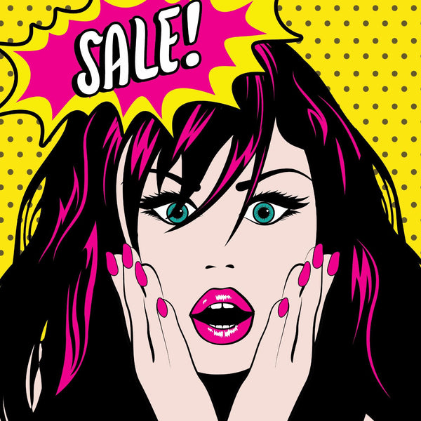Sale! Sale! Sale! - Art Prints