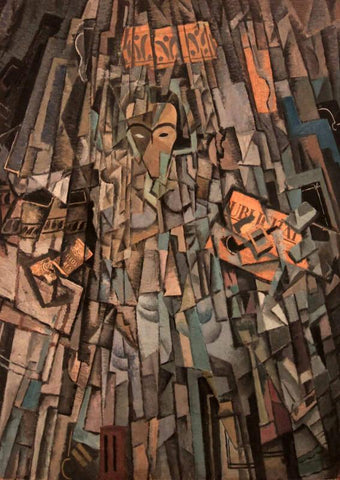 Cubist (Self Portrait) - Large Art Prints