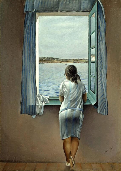Girl At The Window - Art Prints