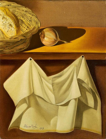 Still Life With White Cloth - Framed Prints