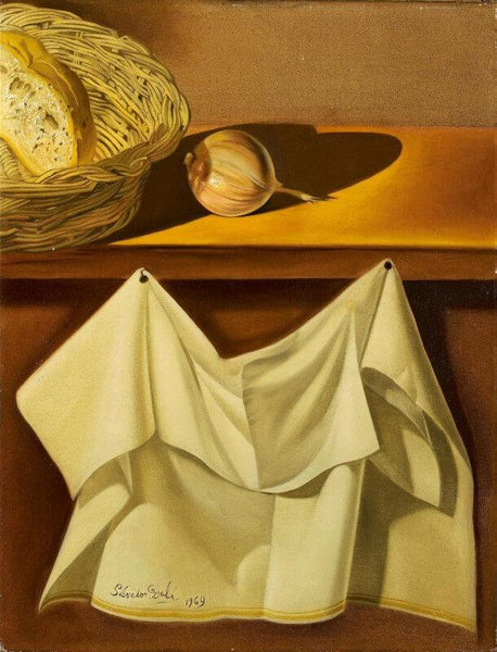 Still Life With White Cloth - Canvas Prints