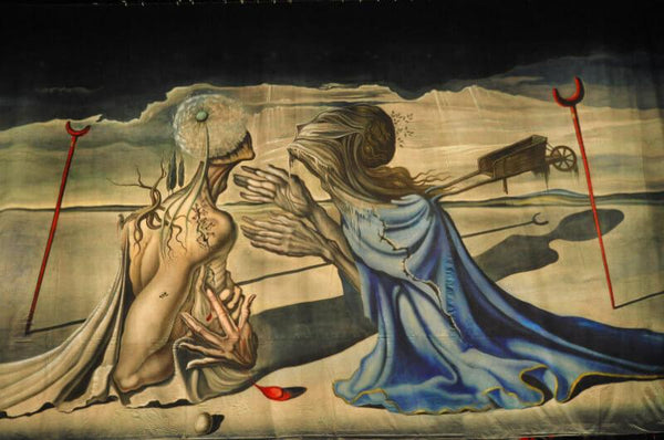 Tristan And Iseult, 1944 By Salvador Dali - Life Size Posters