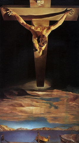 Christ of St.John of the Cross by Salvador Dali