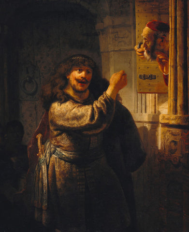 Samson Threatening His Father-in-Law