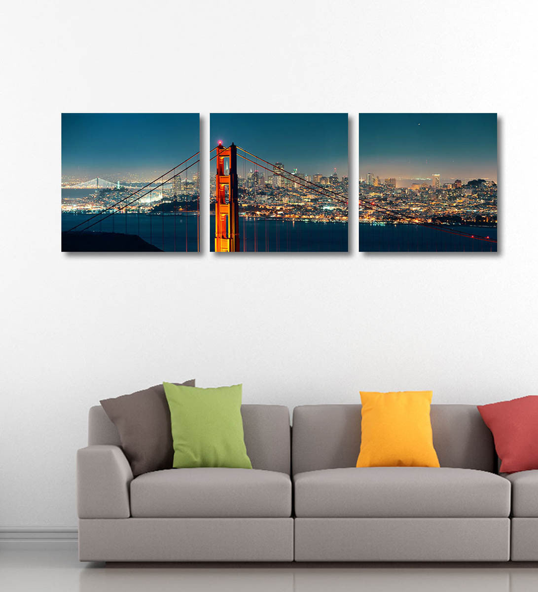 San Francisco Panorama - Art Panels by Hamid Raza | Buy Posters ...
