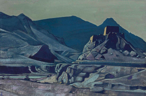 Sanctuaries And Citadels -  Nicholas Roerich Painting –  Landscape Art by Nicholas Roerich