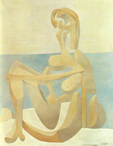 Pablo Picasso - Baigneuse Assise  - Seated Bather