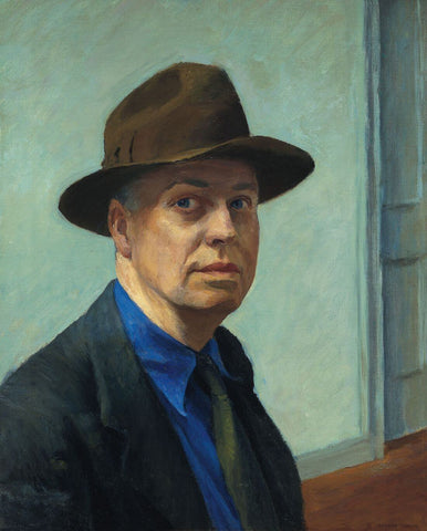 Self-Portrait - Edward Hopper by Edward Hopper