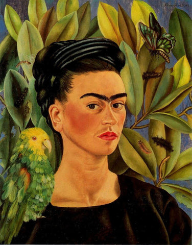 Kahlo de Rivera Portrait of Luther Burbank Giclee Canvas Print Paintings Poster