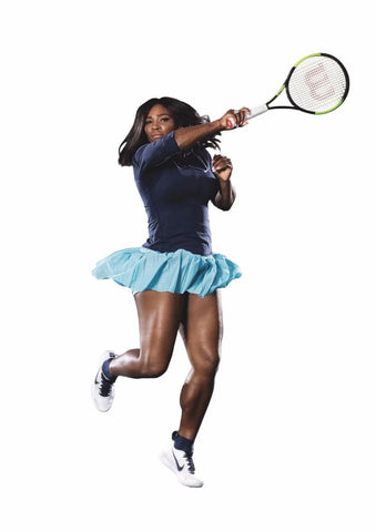 Spirit Of Sports - Tennis Legend - Motivation by Christopher Noel