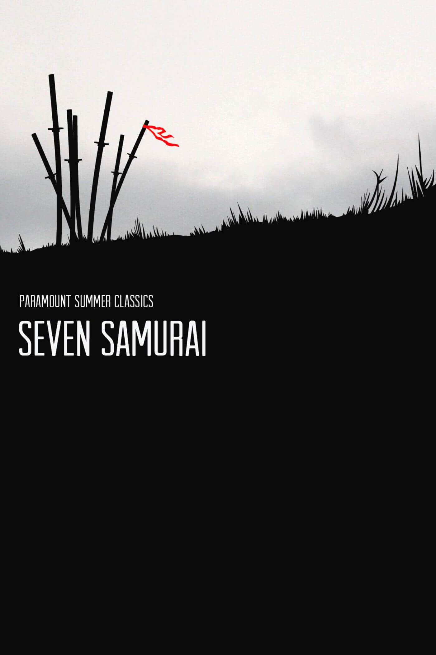 Seven Samurai - Akira Kurosawa Japanese Cinema Masterpiece - Movie Art Graphic Poster