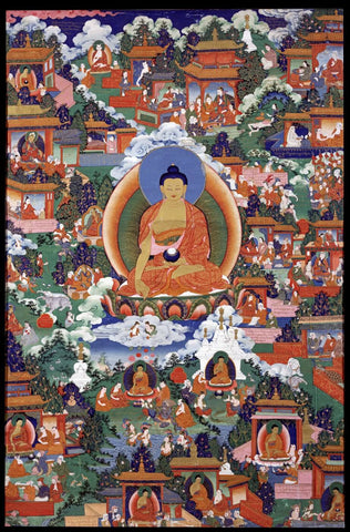 Indian Miniature Art - Shakyamuni Buddha