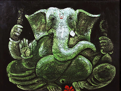 Shree Ganesh Contemporary Painting