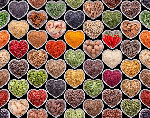 Hearts Of Spices by Sherly David