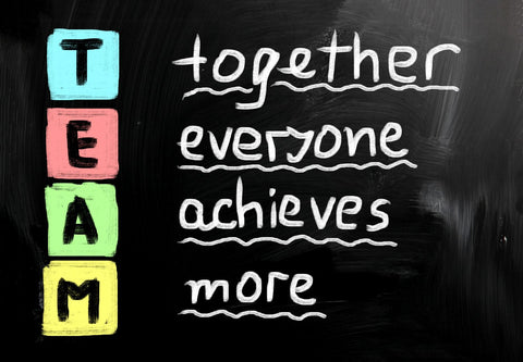 Spirit Of Sports - Motivational Poster - TEAM Together Everyone Achieves More