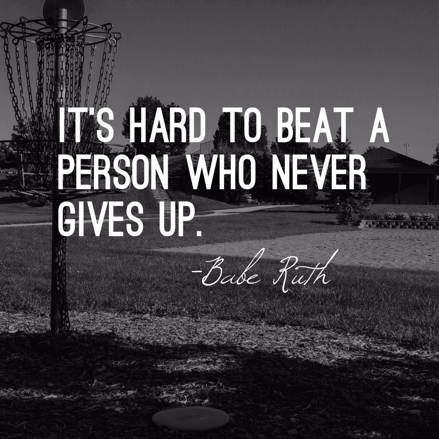 Quotes Never Give Up Spirit Of Sports  Motivational Quote  Never Give Up  Babe Ruth