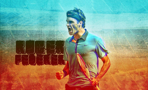 Spirit Of Sports - Roger Federer - Legend Of Tennis by Christopher Noel