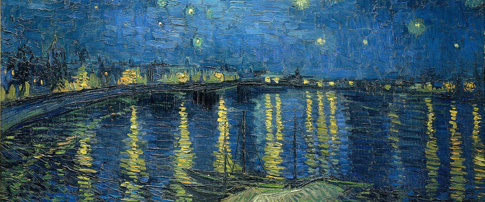 Starry Night Over The Rhone by Vincent Van Gogh | Buy Posters, Frames, Canvas  & Digital Art Prints