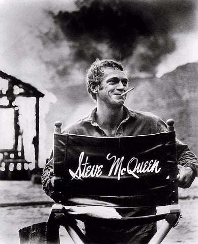 Tallenge Hollywood Collection - Movie Poster - Legends Collection - Steve Mcqueen