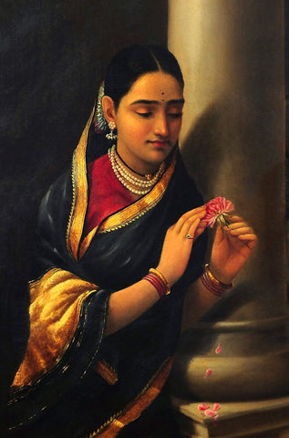 Stolen Interview - Portrait by Raja Ravi Varma