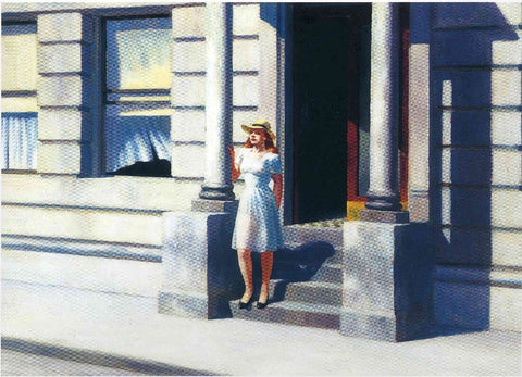 Summertime - Edward Hopper by Edward Hopper