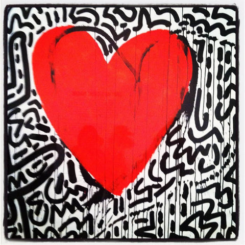 Beautiful Love by Keith Haring