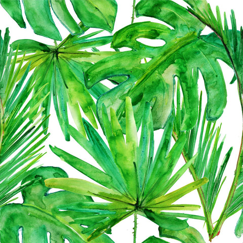 Abstract Leaf Painting - Large Art Prints