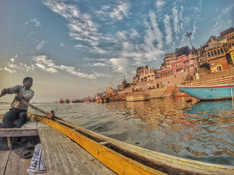 Boatman In Varanasi