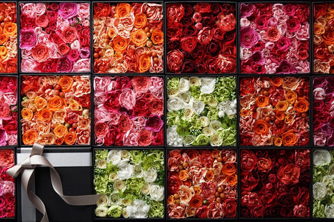 Floral Art - Roses In The Box