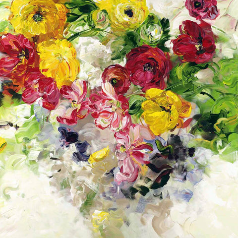 Tallenge Floral Art Collection - Contemporary Painting - Summer Bouquet