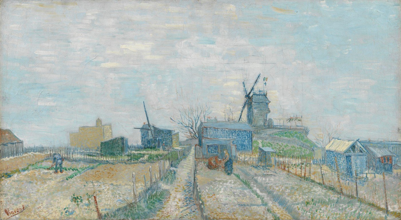 Tallenge masters paintings collection vincent van gogh the old tower in the fields