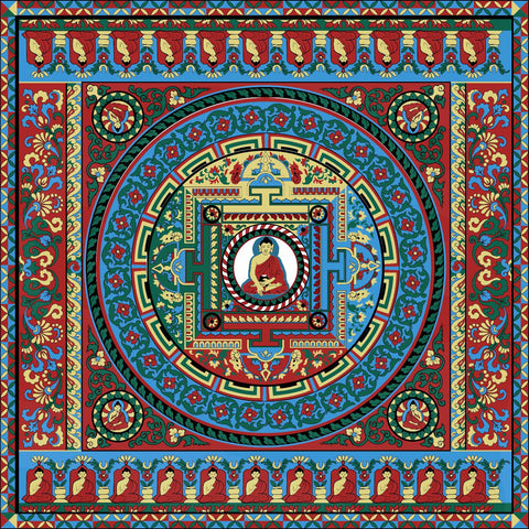 Thanka - A Tibetan Buddhist Painting