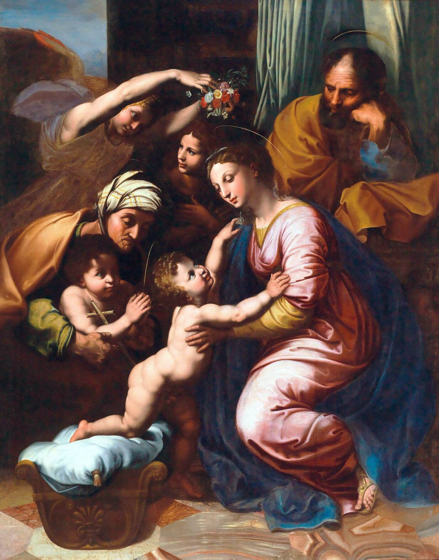 The Holy Family - Raphael - Renaissance Painting - Posters