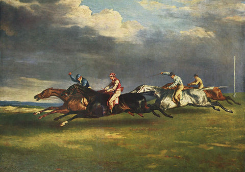 The 1821 Derby At Epsom - Canvas Prints