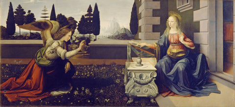 The Annunciation - Art Prints