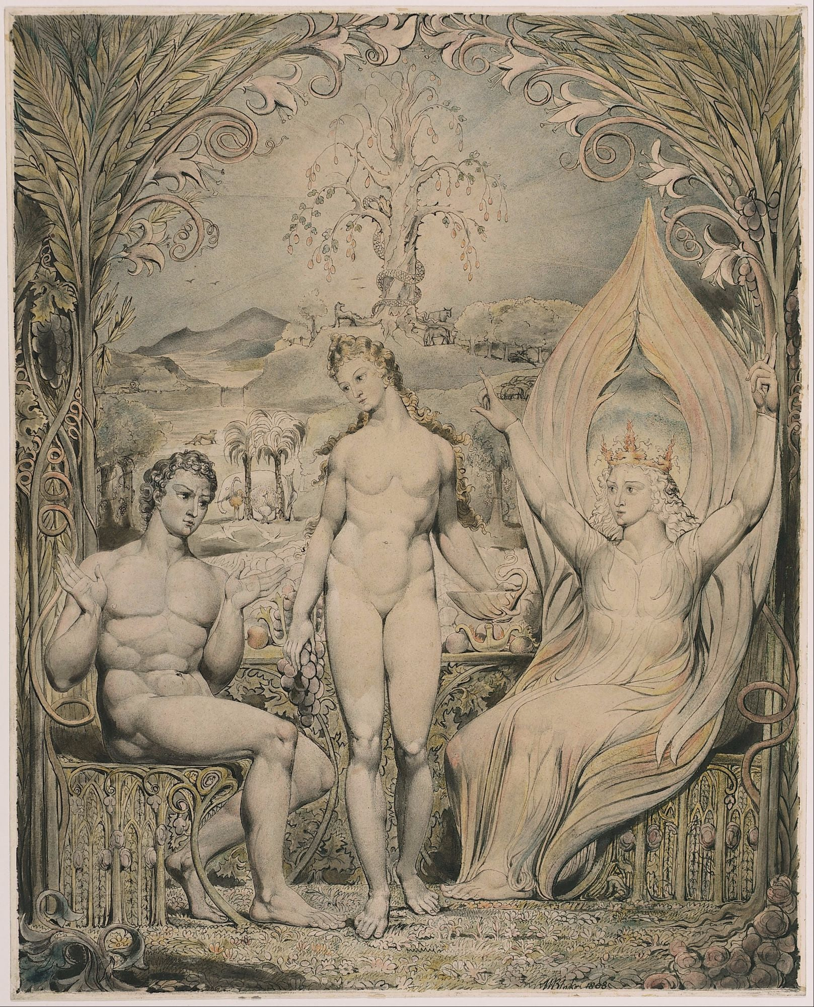 William Blake Paintings | Buy Posters, Frames, Canvas, Digital Art & Large Size Prints Of The Famous Old Master's Artworks