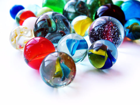 The Beauty Locked Inside Marbles