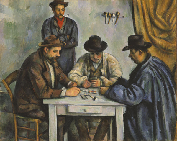 The Card Players - Art Prints