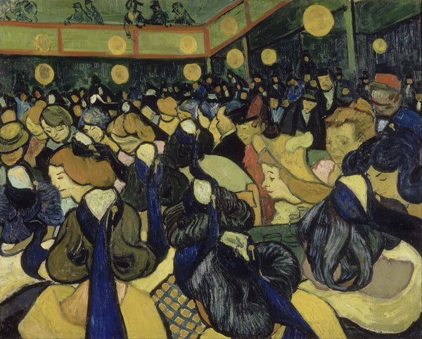 The Dance Hall in Arles - Art Prints