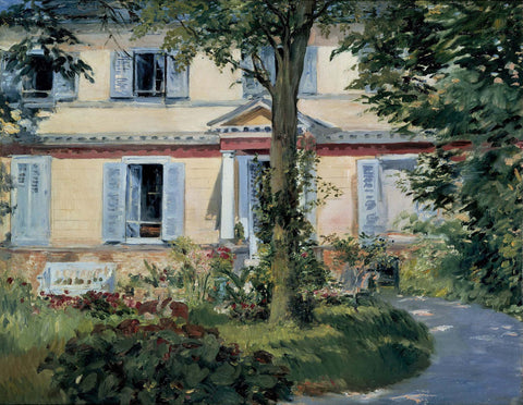 The House at Rueil - Canvas Prints
