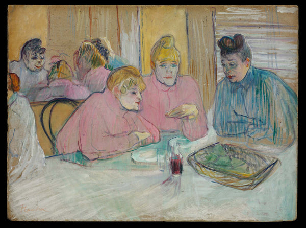The Ladies in the Dining Room - Canvas Prints