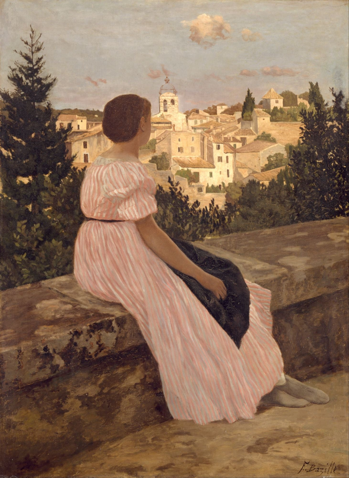 Frédéric Bazille | Buy Posters, Frames, Canvas, Digital Art & Large Size Prints Of The Famous Old Master's Artworks
