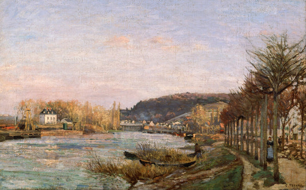 The Seine at Bougival - Posters