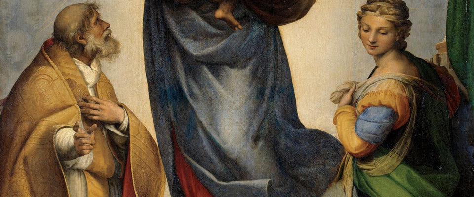 The Sistine Madonna by Raphael | Buy Posters, Frames, Canvas  & Digital Art Prints