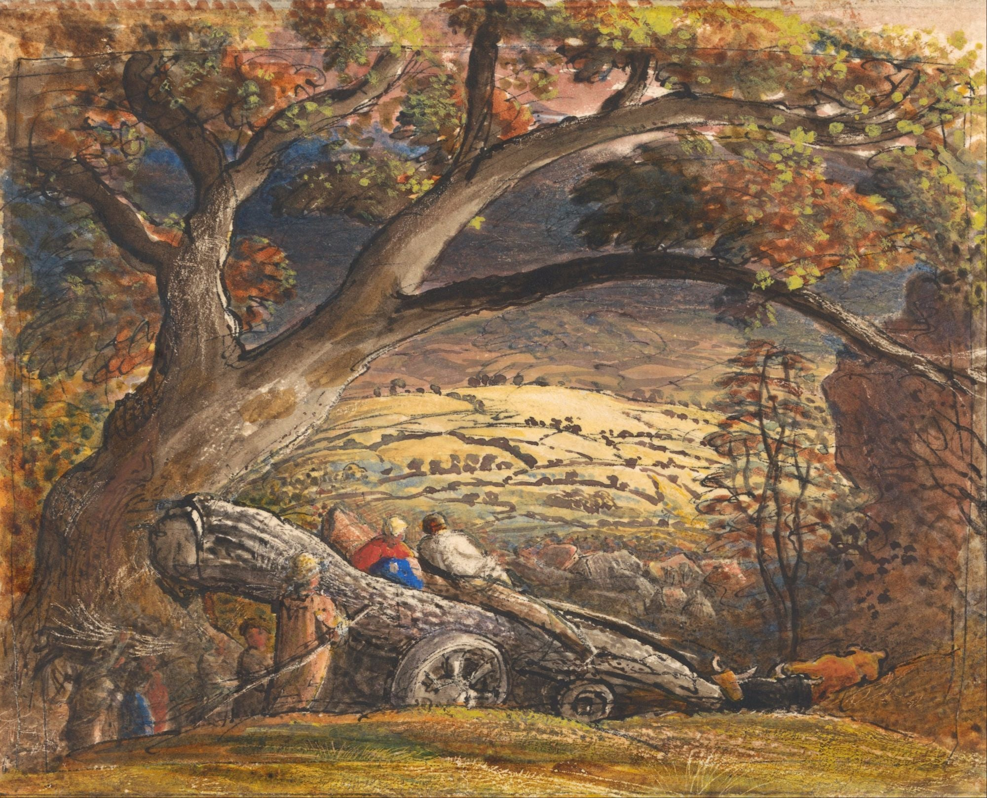 Samuel Palmer | Buy Posters, Frames, Canvas, Digital Art & Large Size Prints Of The Famous Old Master's Artworks