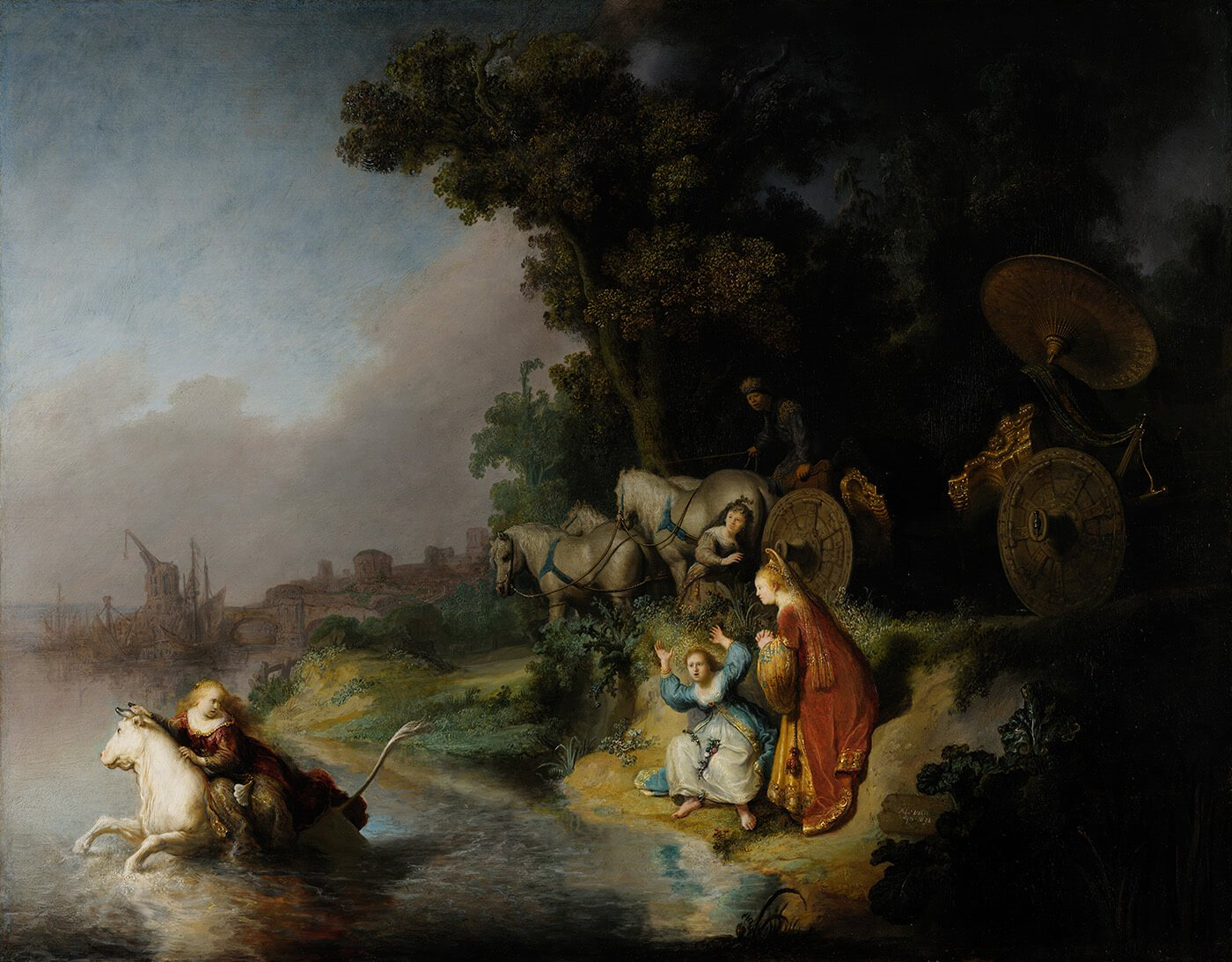 The_Abduction_of_Europa - Rembrandt van Rijn - Life Size Posters