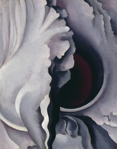 The Black Iris - Georgia OKeeffe